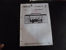 Original Service Manual  Nokia CD Touring 718
