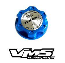 BLUE TURBO BILLET RACING ENGINE OIL FILLER CAP FOR FIAT 500 / DODGE DART 1.4L