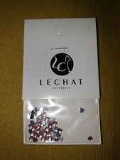 LECHAT 3D PINK heart shaped Nail Art Rhinestones - pk 50