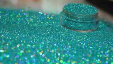 Esclusivo Bizzy Unghie Cosmetici Grade GLITTER NAIL ART carabean Oceano Acrilico Gel