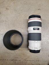 CANON ULTRASONIC EF 70-200mm 1:4 L USM Zoom Lens