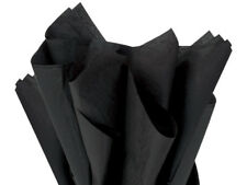 Black Tissue Paper 480 Sheet Ream 15x20� Crafts gifts Pompoms Halloween Usa Made