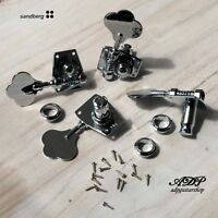 Mecaniques Basse Sandberg P-J Bass Chrome Tuners Set : 4