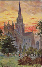 TUCK : ENGLISH CATHEDRALS-Chichester-A PAYNE-OILETTE 6498