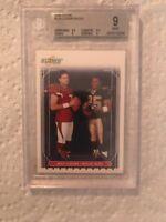 2006 Score #328 Leinart / Bush NFL Card Beckett graded 9 Mint