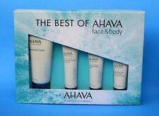 AHAVA DEADSEA MINERALS 4PC for FACE (CLEANSER, MASK, MOISTURIZER) + BODY LOTION