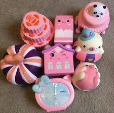 8 Pieces Squishy Pink Kawaii Set Brand New High Quality
