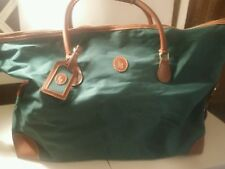 Ralph Lauren polo green traveling overnighter bag with nametag