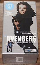 The Avengers '67 Set 1 - 3 Tape VHS Set - Patrick Macnee Diana Rigg