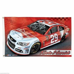 NASCAR Kevin Harvick # 29 Wincraft 3' X 5' Flag w/ Grommets NEW!
