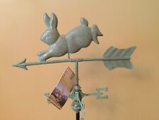 Good Directions Blue Verde Rabbit Weathervane - 809V1 W/Roof Mount & Garden Pole