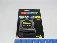 """US TAPE MEASURING TAPES 1/2"""" x 10'-3M    (1 BOX 6 PCS)"""