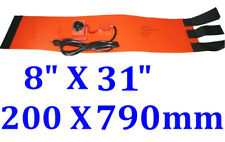 "8"" X 31""  200 X 790mm 600W w/ Control Tank Drum Band Barrel Bottle Heater"