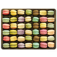 iStyle - Set of 4 Table Placemats with 3D Style Print - Macaroons