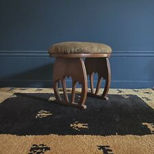Antique Arts And Crafts Footstool