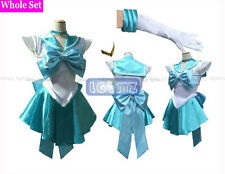 Sailor Moon Sailor Mercury Ami Mizuno Amy Mizuno Dress Cosplay Clothing Costume