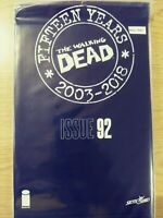 WALKING DEAD 92 NM [15 YEAR ANNIVERSARY BLACK POLYBAGG SEALED] PA11-345