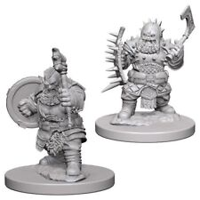 Pathfinder Deep Cuts Dwarf Male Barbarian Miniatures Dungeons & Dragons WZK72615