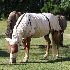 ELDORADO Ekzemerdecke - beige - 115 cm Decke für Ekzemer Pferde Weidedecke Pony