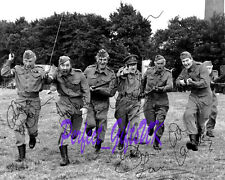 """Dads Army Charge Cast Signed Autographed 10x8"""" PP Repro Photo Arthur"""