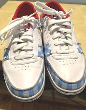 CREATIVE RECREATION MEN'S VINTAGE CAPONE BLUE/WHITE NEW SHOES SIZE 9 BOX INCLUDE