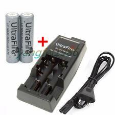 2x UltraFire 18650 Battery+WF-139 Multi-Purpose Li-ion 14500 18500 16340 Charger