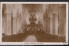 Devon Postcard - Exeter Cathedral - The Nave    RS282