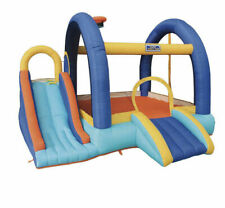 My 1st Jump 'n Slide Little Tikes Bounce House with Slide & Basketball 3-8 Years