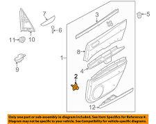 MAZDA OEM 04-18 3 Interior-Rear Door-Door Trim Panel Fastener GJ6A68AB1