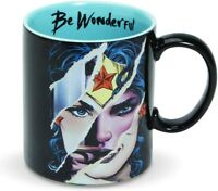 DC Comics Ceramics Wonder Woman Be Wonderful Coffee Mug, 16 Ounce