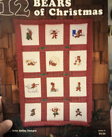 12 Bears Of Christmas Leaflet No. 7Cross Stitch Patterns by Bette Ashley Designs