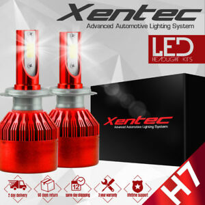 XENTEC LED HID Headlight kit H7 White for Mercedes-Benz E420 1997-1999
