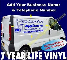 Custom Vehicle Self Adhesive Vinyl Sticker Decal Sign Making Graphic Van Signs