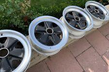Original FUCHS Felgen 6 + 7 x 16 Porsche 911 930 Turbo 912 SC Carrera S 3.0 2.7