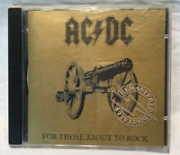 AC/DC - For Those About To Rock - Digitally Remastered CD - Albert Aussie 1995