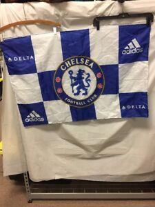CHELSEA FOOTBALL CLUB ADIDAS DELTA FLAG 3' X 2'