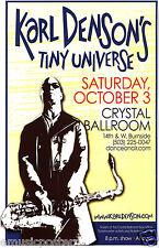 Karl Denson'S Tiny Universe 2009 Portland Concert Tour Poster-Jazz,Funk,Jam Band