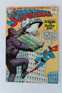 Superman comic, # 138, July 1960, silver age, @ GD, 4.0