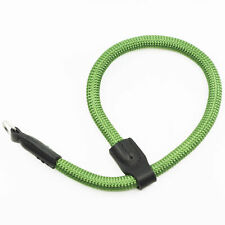 Green Nylon Rope Adjustable Camera Wrist Strap with Ring Connection by Cam-in