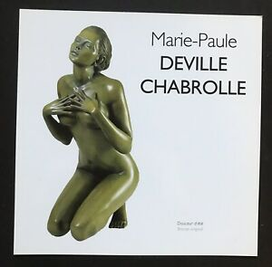 MARIE-PAUL DEVILLE CHABROLLE, Artist's promotional card, Galeries Bartoux,