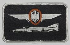 Écusson patch namemsschild f-4 Phantom II pilote en bronze... a3607