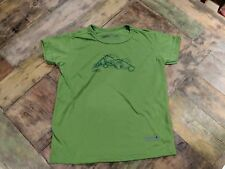 Regatta Boys Short Sleeve Green T-Shirt with Graphic Age 3-4