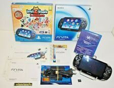 ++ console SONY PS VITA version 1004 crystal black pack invizimals l'alliance ++