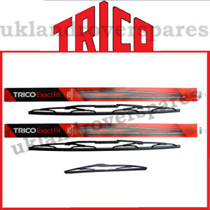 LAND ROVER DISCOVERY 2 WIPER BLADE SET TRICO FRONT & QUALITY REAR - WIPER BLADES