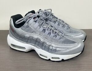 Nike Air Max 95 QS 'Silver Bullet', Silver/Grey 814914-002, Womens Size 8.5 / 40