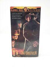 Unforgiven Vhs 1993 Client Eastwood