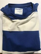 9f8dc8e60dd9d Old Navy Men s T-Shirt Blue   White Stripe Shirt ...