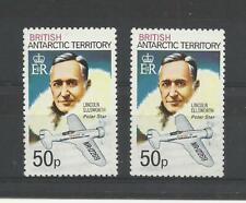BRITISH ANTARCTIC TERRITORY 1979 & 1980 both 50p High Values   umm / mnh