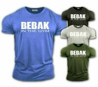 BEBAK Mens Gym T-Shirt  Bodybuilding Top Workout Clothing Training Top VEST MMA