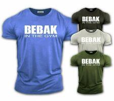 Camiseta para hombre Gimnasio Culturismo Top Entrenamiento Ropa Bebak Training Top Chaleco MMA